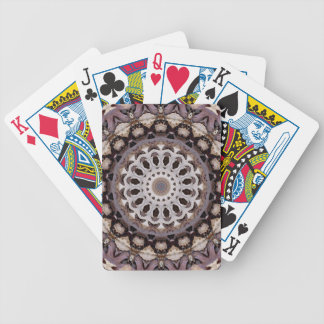 Autumn Leaves Kaleidoscope Playing Cards