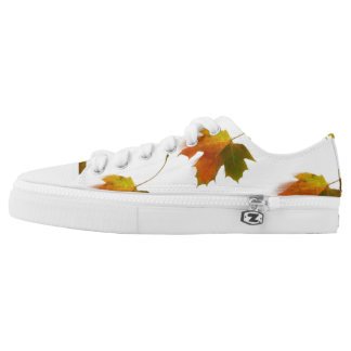 Autumn Leaves Low Tops