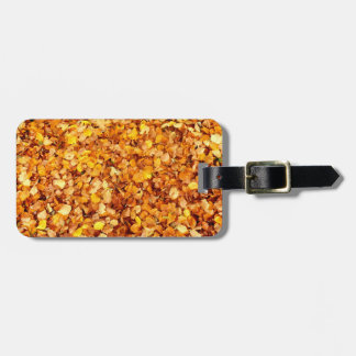 Autumn Leaves Luggage Tag