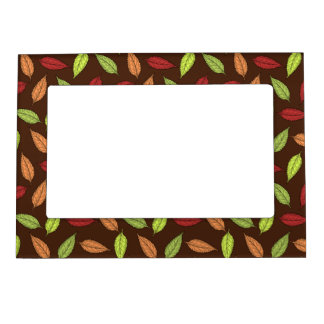 AUTUMN LEAVES MAGNETIC PICTURE FRAME