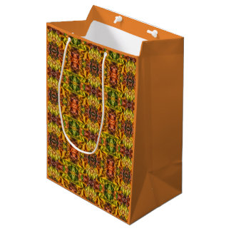 Autumn leaves medium gift bag