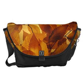 Autumn Leaves Messenger Bag