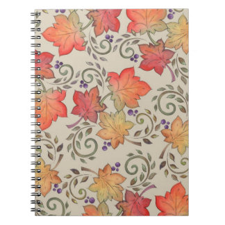 Autumn Leaves - Notebook
