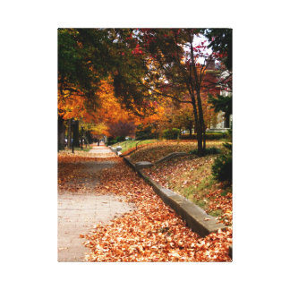 Autumn Leaves One Photograph Canvas Stretched Canvas Prints