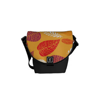 Autumn Leaves Pattern Commuter Bags