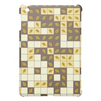 Autumn leaves pattern iPad mini case