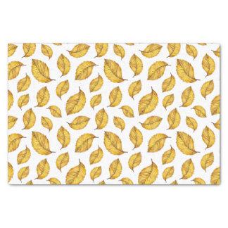 Autumn Leaves Pattern Tissue Paper