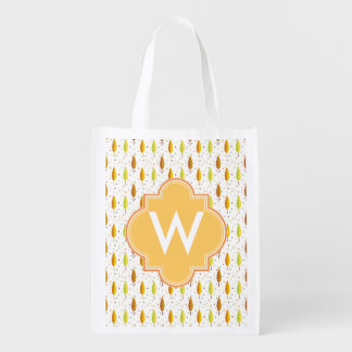 Autumn leaves Pattern Grocery Bag