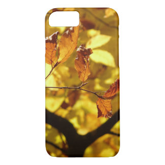 Autumn leaves photo print iPhone 8/7 case