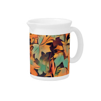Autumn Leaves Pitcher