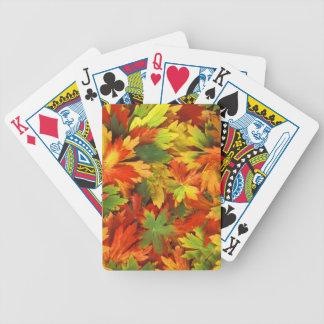 Autumn  Leaves Poker Deck