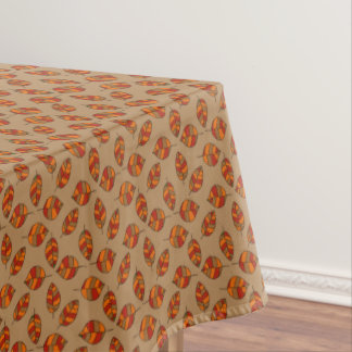 Autumn Leaves Red Leaf Pattern on any Color Tablecloth