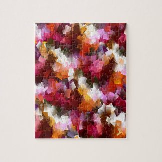 Autumn leaves scattered... jigsaw puzzle