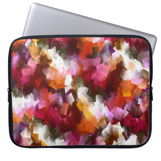 Autumn leaves scattered... laptop sleeve