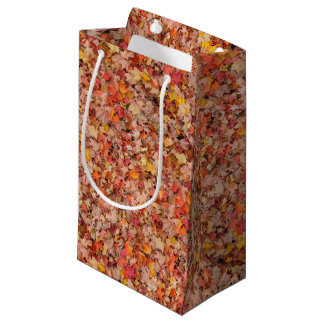 Autumn Leaves Small Gift Bag