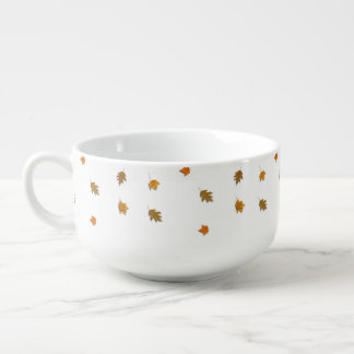 Autumn Leaves Soup Mug