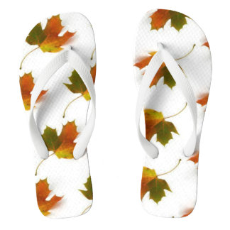 Autumn Leaves Thongs