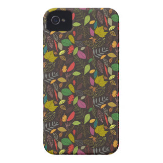 Autumn leaves tropical night iPhone 4 covers
