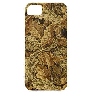 Autumn leaves William Morris pattern iPhone 5 Case