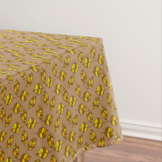 Autumn Leaves Yellow Leaf Pattern on any Color Tablecloth