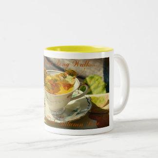 Autumn Love Two-Tone Coffee Mug