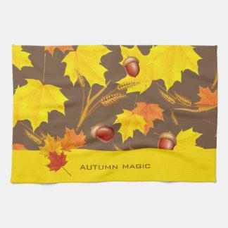 Autumn Magic Tea Towel