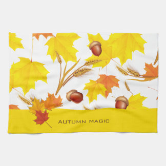 Autumn Magic Tea Towel
