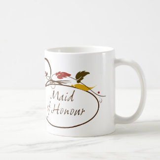 Autumn Maid of Honour Coffee Mug