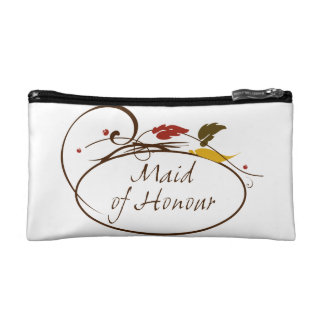 Autumn Maid of Honour Cosmetic Bags
