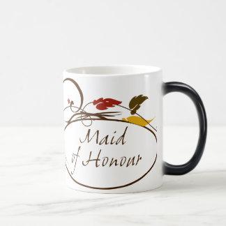 Autumn Maid of Honour Magic Mug