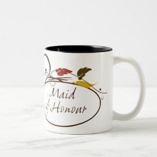 Autumn Maid of Honour Two-Tone Coffee Mug