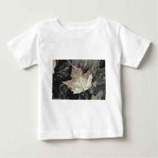 Autumn Maple Leaf Art Baby T-Shirt