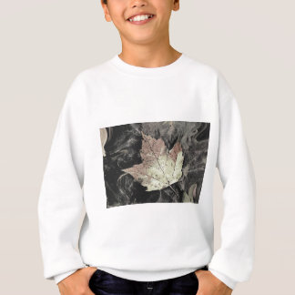 Autumn Maple Leaf Art Sweatshirt