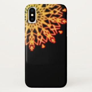 Autumn Maple Leaf Flame ~ iPhone X Case