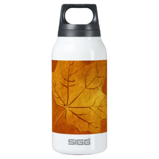 Autumn Maple Leaf in Gold 0.3 Litre Insulated SIGG Thermos Water Bottle
