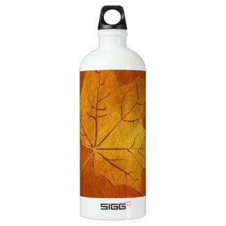 Autumn Maple Leaf in Gold SIGG Traveller 1.0L Water Bottle