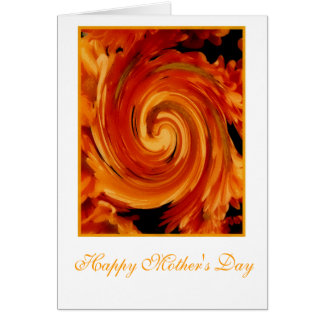 Autumn Memories Mother's Day Card