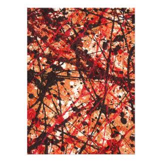 AUTUMN MIX abstract art design Announcement