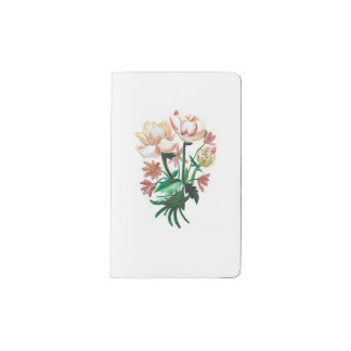Autumn Moleskin Note Book - Fleural Desigb