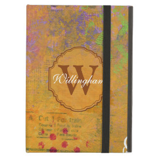 Autumn Monogram iPad Case