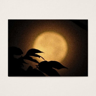 Autumn Moon ATC Business Card