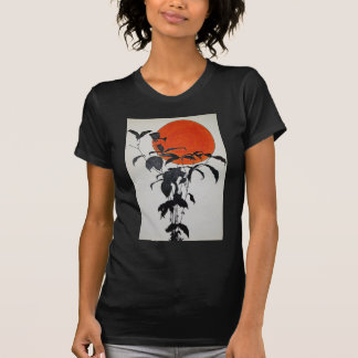 Autumn Moon by Piliero T-Shirt