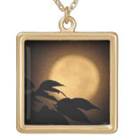 Autumn Moon Personalised Necklace