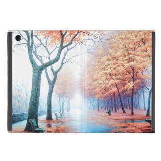 Autumn Morning In the Park iPad Mini Cover