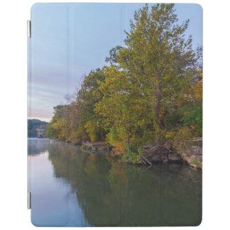 Autumn Morning Lake Springfield iPad Cover