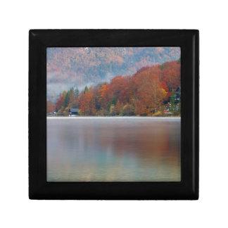Autumn morning over Lake Bohinj Gift Box