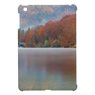 Autumn morning over Lake Bohinj iPad Mini Case