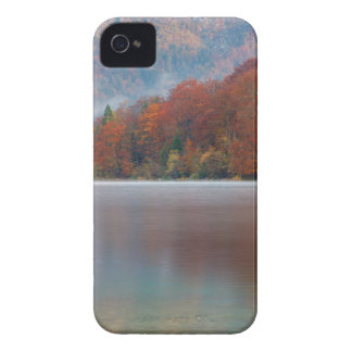 Autumn morning over Lake Bohinj iPhone 4 Cases