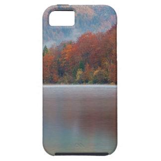 Autumn morning over Lake Bohinj iPhone 5 Cases