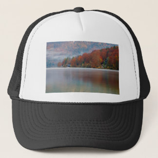Autumn morning over Lake Bohinj Trucker Hat